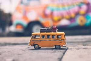 Small toy van- How to sell a car after travelling across Australia