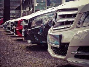 Multiple stationary cars - How to sell fleet and company vehicles - Cars Brisbane