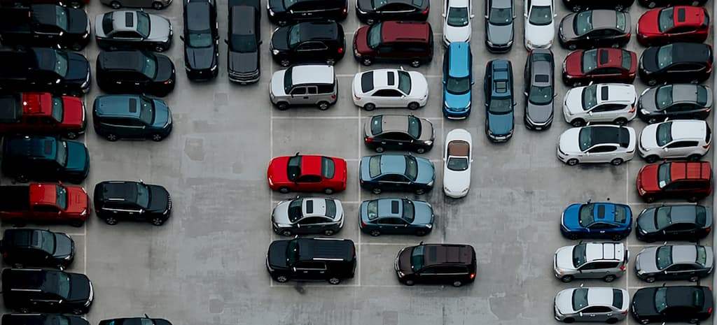 aerial cars parked (1)