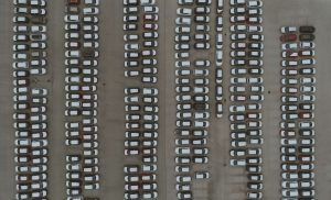 Car yard from above - Don't forget these tips when selling your car - Cars Brisbane