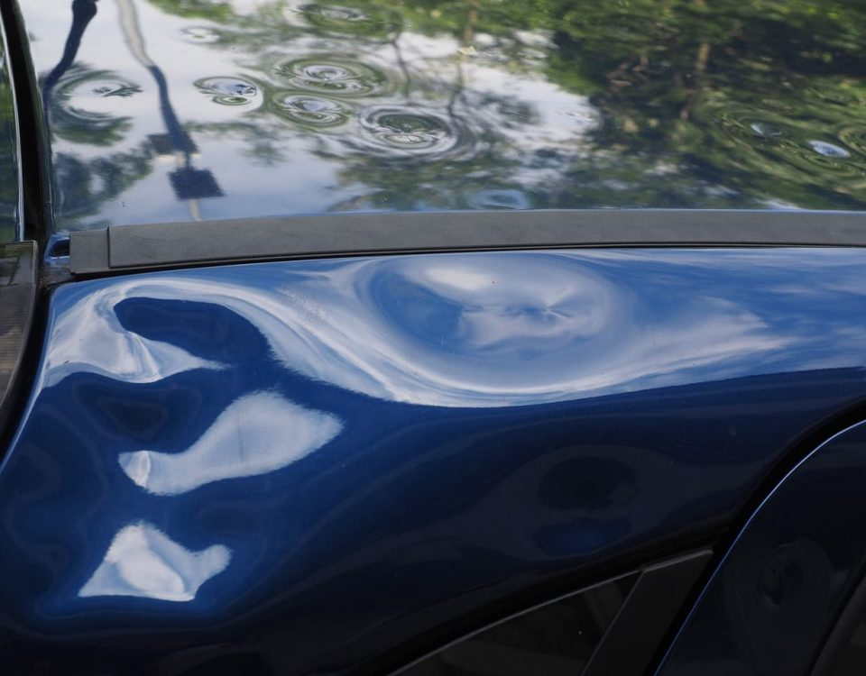 Car with hail damaged roof - Cars Brisbane